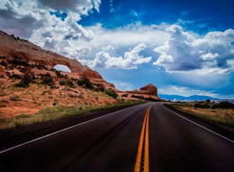 The Endless Road in Utah-X3